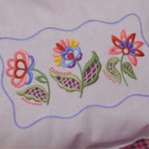 Nancy's Jacobean Cutwork HUS | Crafting | Embroidery