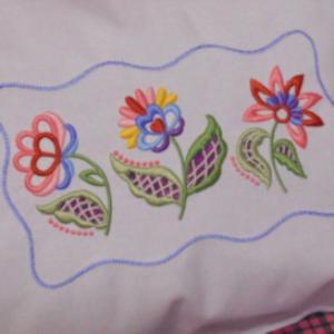 Nancy's Jacobean Cutwork XXX | Crafting | Embroidery