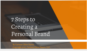 7 steps to creating a personal brand