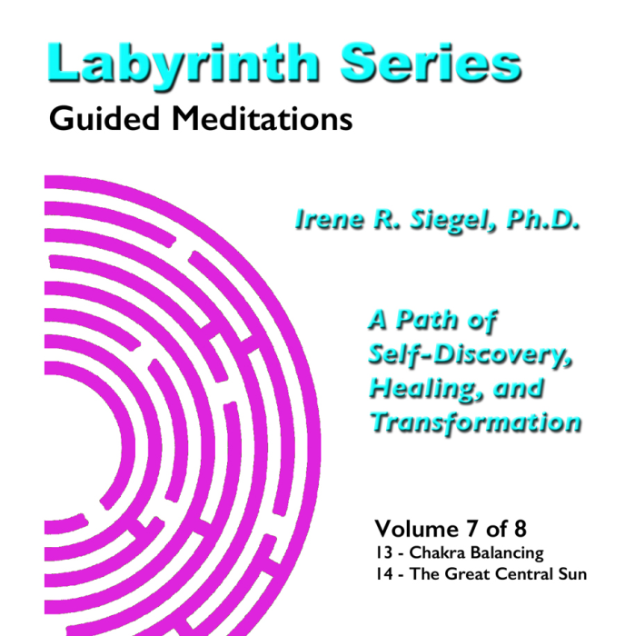 First Additional product image for - Labyrinth Series Guided Meditations - Volume 7