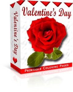 valentine's day collection, plr articles to coloring pages