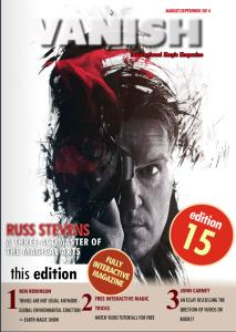vanish magazine 15
