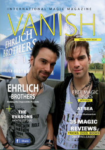 vanish magic magazine 25