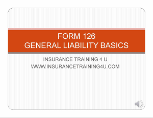 commercial basics form 126
