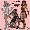 FEMALE WARRIOR Graphic Stock Images | Photos and Images | Digital Art