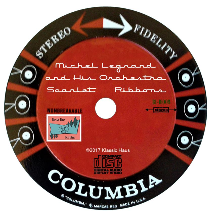 Second Additional product image for - Scarlet Ribbons - Michel Legrand and His Orchestra