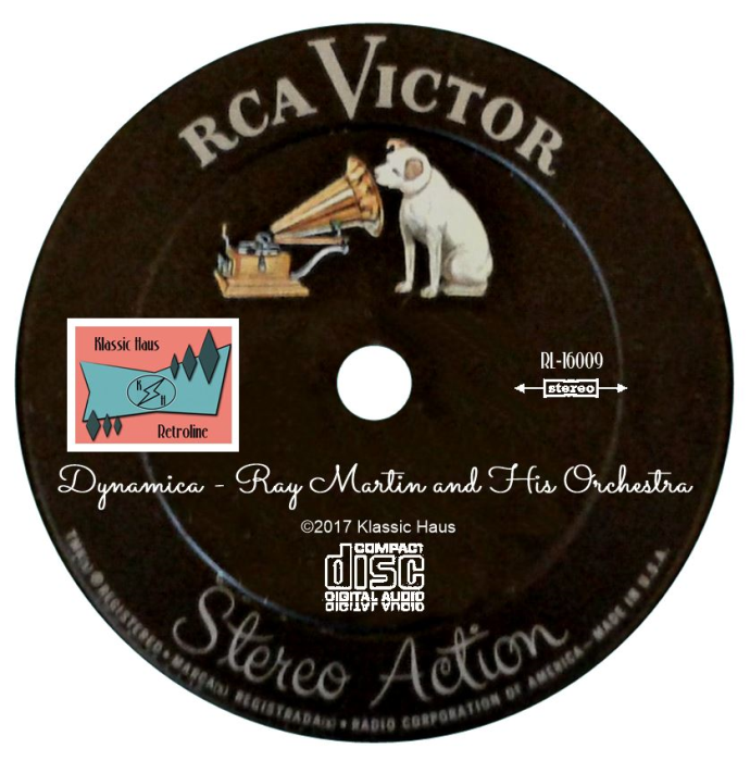 Second Additional product image for - Dynamica - Ray Martin and His Orchestra