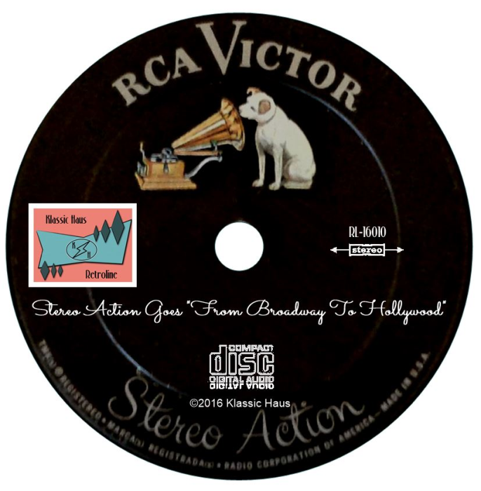 "Second Additional product image for - Stereo Action Goes ""From Broadway To Hollywood"""