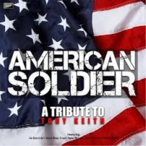First Additional product image for - An American Soldier Toby Keith SAT Lead sheet with SATB Choir back up