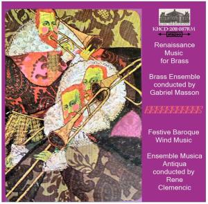renaissance brass and baroque wind music - masson/clemencic