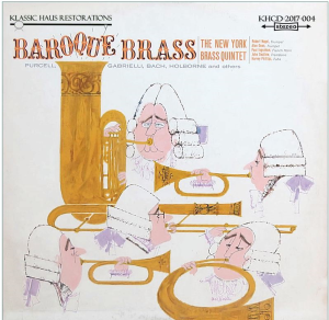 baroque brass - the new york brass quintet