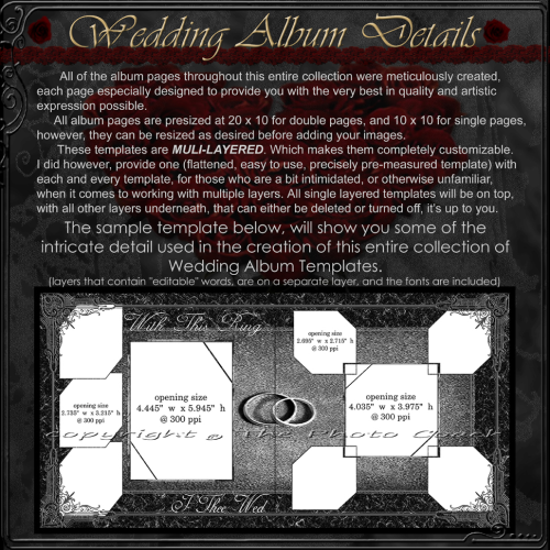 First Additional product image for - (1F) Wedding Album Collection