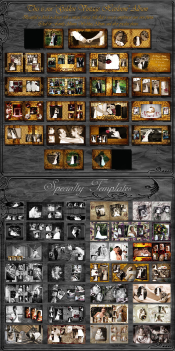 Third Additional product image for - (1F) Wedding Album Collection