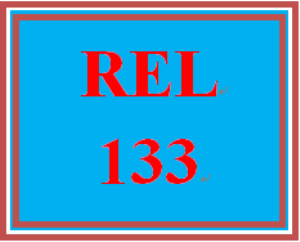 REL 133 Entire Course | eBooks | Education