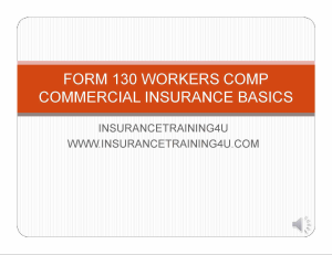 workers compensation basics from 130