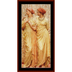 Topaz - AJ Moore cross stitch pattern by Cross Stitch Collectibles | Crafting | Cross-Stitch | Wall Hangings