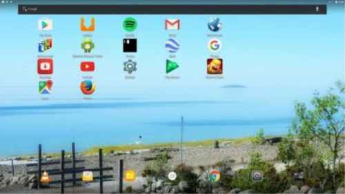 First Additional product image for - Android-x86_64 Nougat 7.1.1 with GAPPS and kernel 4.4.40-exton-android-x86_64
