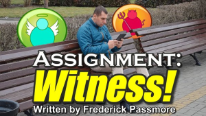 assignment: witness!