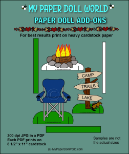 paper doll camping add on download