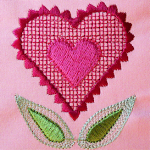 Love Blooms PES | Crafting | Embroidery
