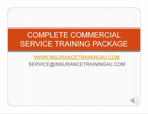 complete commercial service package