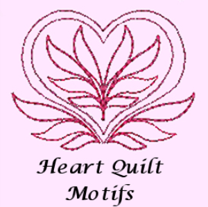 Heart Quilt Motifs HUS | Crafting | Embroidery
