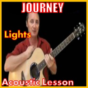 learn to play lights by journey