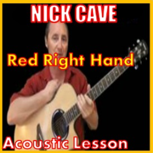 learn to play red right hand by nick cave