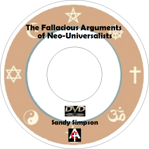 fallacious arguments of neo universalists (mp3)