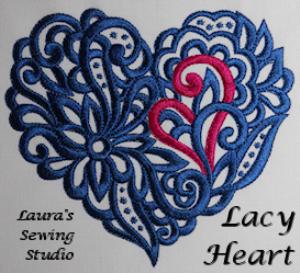 laura's lacy hearts jef
