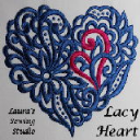 Laura's Lacy Hearts JEF | Crafting | Embroidery