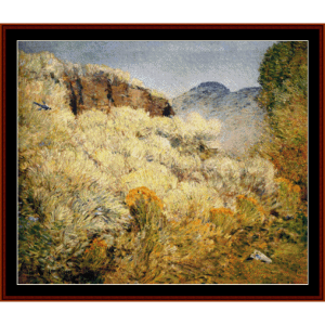 Harney Desert II - Childe-Hassam cross stitch pattern by Cross Stitch Collectibles | Crafting | Cross-Stitch | Wall Hangings