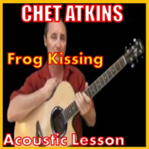 learn to play frog kissin by chet atkins