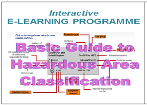 e-learning course basic guide to hazardous areas
