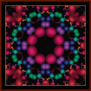 Fractal 603 cross stitch pattern by Cross Stitch Collectibles | Crafting | Cross-Stitch | Wall Hangings
