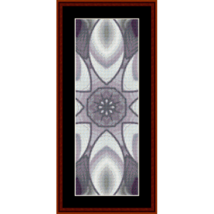 fractal 602 bookmark cross stitch pattern by cross stitch collectibles