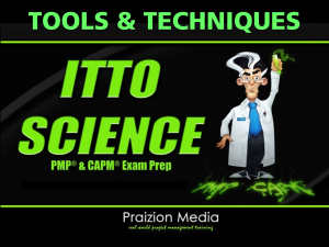 itto science inputs-outputs, tools & techniques relationships pdf