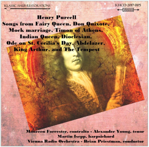 Henry Purcell: Songs | Music | Classical