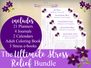 Stress Relief Organizer Kit | Other Files | Documents and Forms