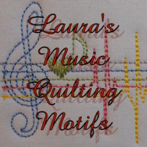 laura's music quilt motifs dst