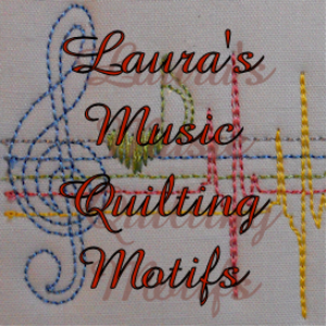 Laura's Music Quilt Motifs EMD | Crafting | Embroidery