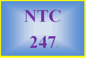 NTC 247 Entire Course | eBooks | Education