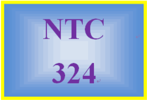 Second Additional product image for - NTC 324 Week 1 Individual: Lab Challenge