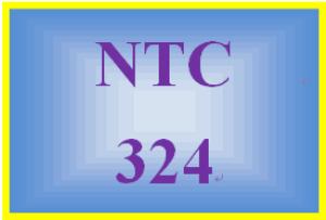 ntc 324 week 4 individual: systems scenario