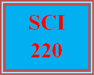 SCI 220 Entire Course | eBooks | Education