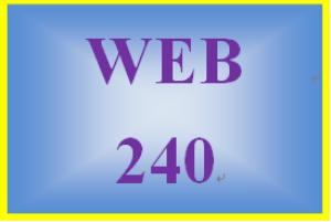 WEB 240 Week 3 Individual: Expanded Website Plan | eBooks | Education
