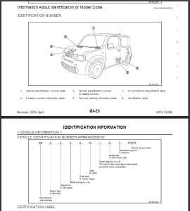 2014  nissan cube z12 service repair manual & wiring diagram