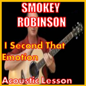 learn to play i second that emotion by smokey robinson