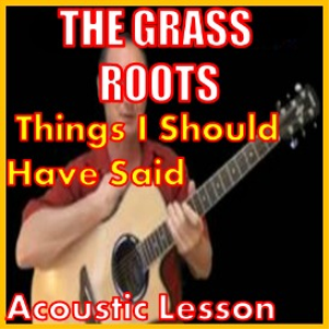 Learn to play Things I Should Have Said by The Grass Roots | Movies and Videos | Educational