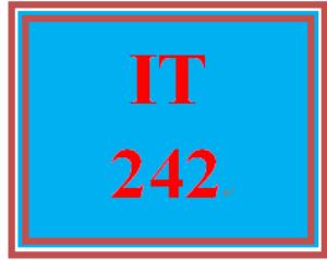 IT 242 Week 2 Individual: Identifying IP Configuration and MAC Address Information | eBooks | Education